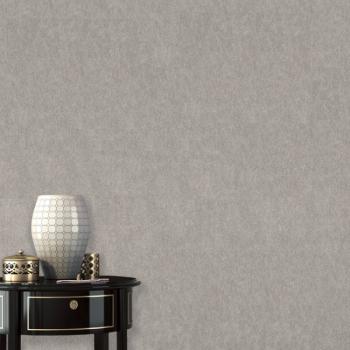 Papier peint intissé grainé Arto Premium gris clair
