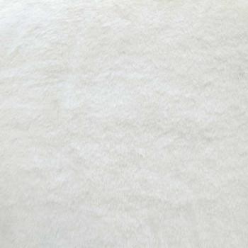 Tissu fausse fourrure écru 140 cm