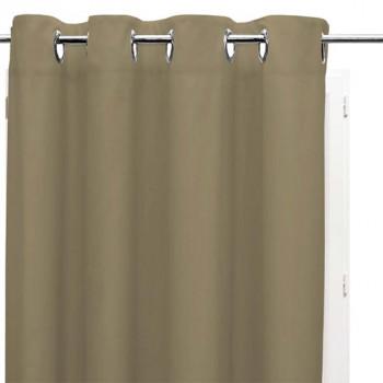 Rideau tissu isolant thermique beige