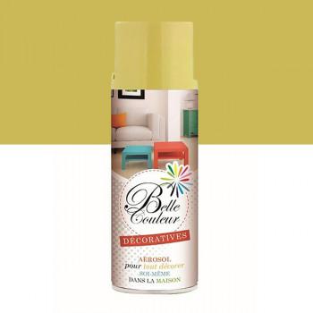 Peinture Belle couleur spray aérosol multi-supports beige brillant 400 ML