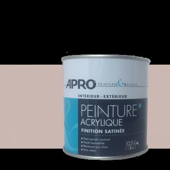 Peinture Apro multi-supports  Murs, plafonds, boiseries, plinthes… taupe satin 0,5 L