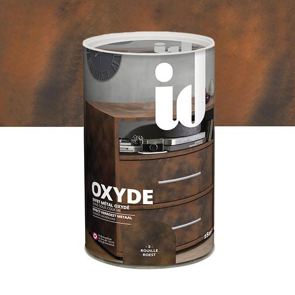 Oxyde effet métal oxydé