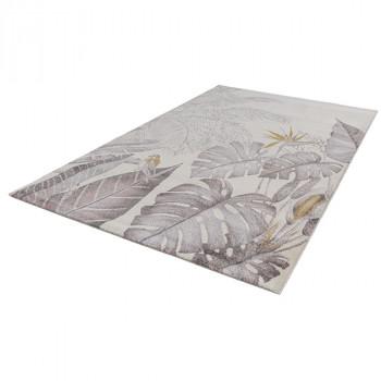 Tapis à motif végétal 160 x 230 cm