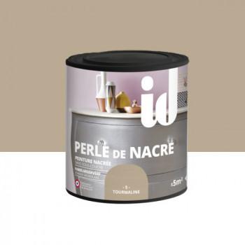 Peinture Id Déco multi-support perle de nacre tourmaline 0,5L
