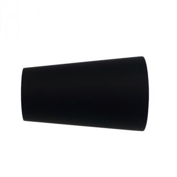 Embout ZEN pommeau noir mat Ø28