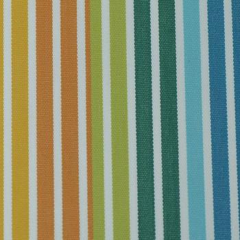 Tissu toile transat rayée multicolore 160 cm