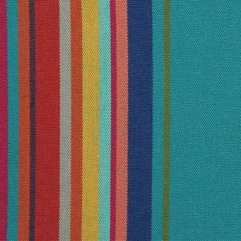 Tissu toile transat rayée multicolore 320 cm