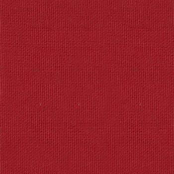 Tissu coton emerisé rouge cerise Oekotex 150 cm
