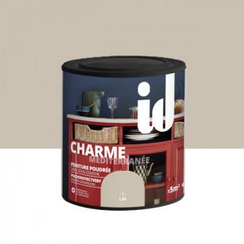 Peinture Id Déco multi-support charme méditerranée poudrée lin mat 0,5 L