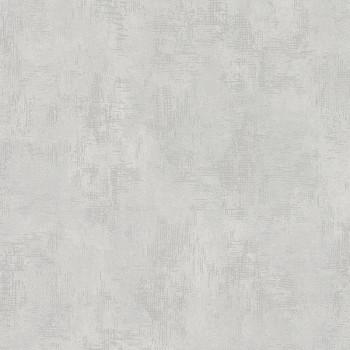Papier peint intissé uni nabucco gris alu
