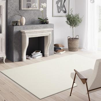 Tapis Uni blanc 120 x 170 cm