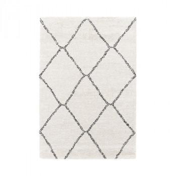 Tapis berbère blanc 200 x 290 cm