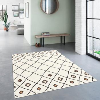 Tapis géométrique 120 x 170 cm