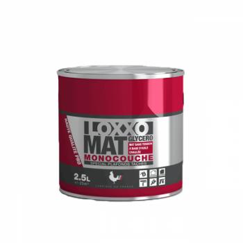 Peinture Loxxo Murs et plafonds tâchés glycéro blanc mat 2,5 L