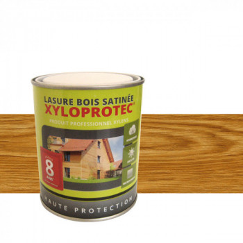 Lasure bois Xyloprotec chêne naturel satin 0,75L