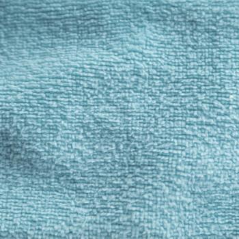 Tissu éponge uni bleu bambou 150 cm