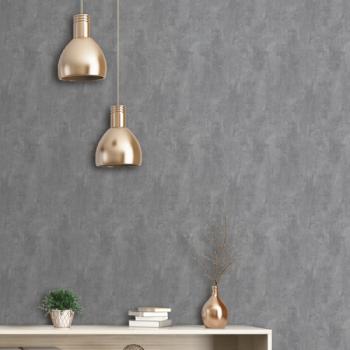 Papier peint Arto Premium intissé effet béton gris souris