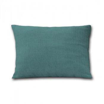 Coussin rectangulaire zippé vert céladon victoria 30x50 cm