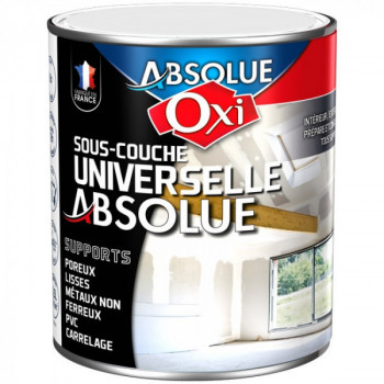 Sous-couche Oxitol absolue universelle blanc mat 1L
