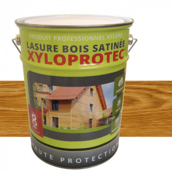 Lasure bois Xyloprotec chêne naturel satin 5 L