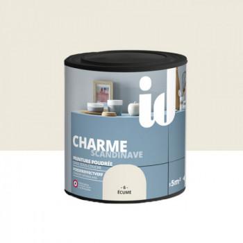 Peinture Id Déco multi-support charme scandinave poudrée ecume mat 0,5 L
