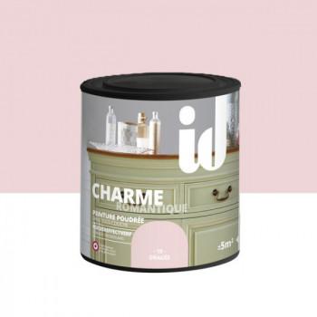 Peinture Id Déco multi-support charme romantique poudrée dragée mat 0,5 L