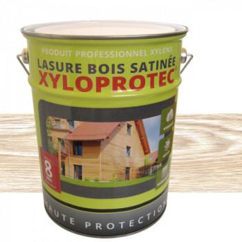 Lasure bois Xyloprotec blanc cérusé satin 5 L