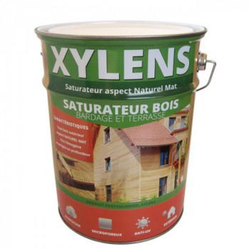 Peinture Xylens saturateur bois incolore mat 5 L
