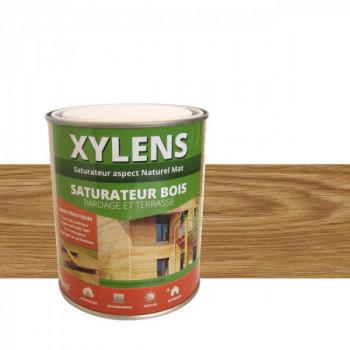 Peinture Xylens saturateur bois chêne fumé mat 0,75 L