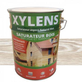 Peinture Xylens saturateur bois gris perle mat 5 L