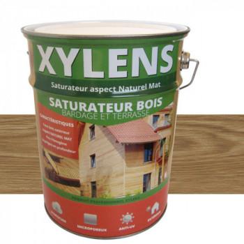 Peinture Xylens saturateur bois chêne fumé mat 5 L