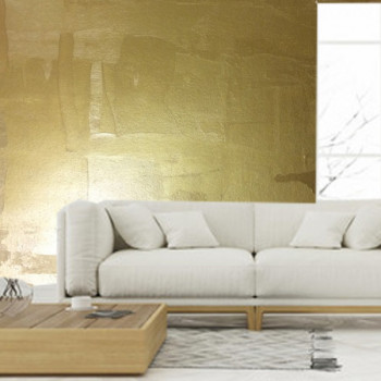 Peinture 100% Déco goldy effet métal or 2,5 L