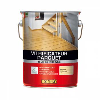 Vitrificateur Bondex spécial parquet incolore satin 5 L