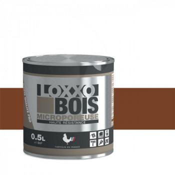 Peinture LOXXO bois brun fauve satin 0.5L