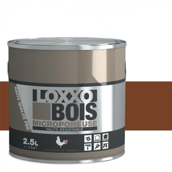 Peinture LOXXO bois brun fauve satin...