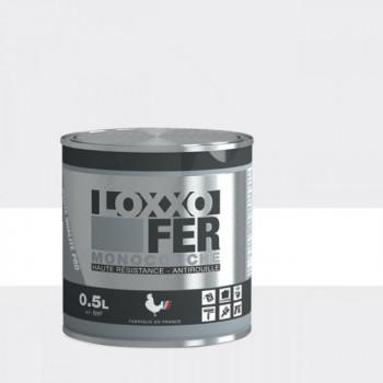 Peinture monocouche LOXXO spéciale fer blanc brillant 0.5L