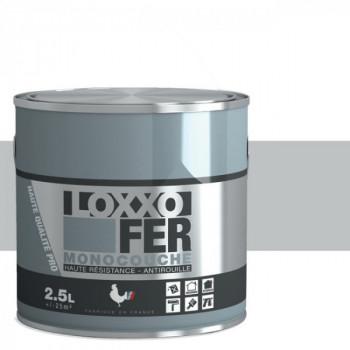 Peinture monocouche LOXXO spéciale fer télégris brillant 2.5L