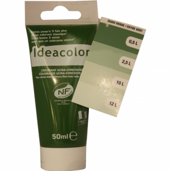 Colorant Idéacolor ultra concentré oxyde vert 50 ml