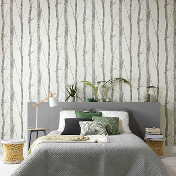 Papier peint intissé lessivable arbre...