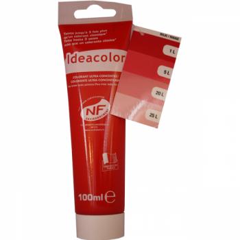 Colorant Idéacolor ultra concentré rouge 100 ml