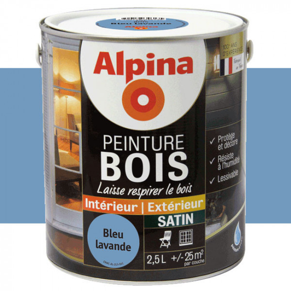Peinture Alpina spéciale bois...