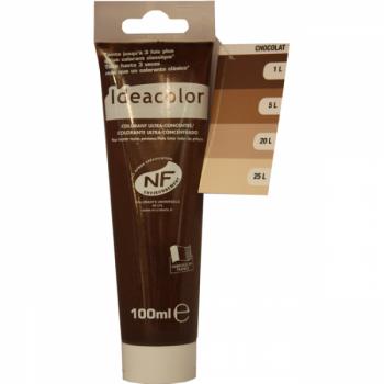 Colorant Idéacolor ultra concentré chocolat 100 ml