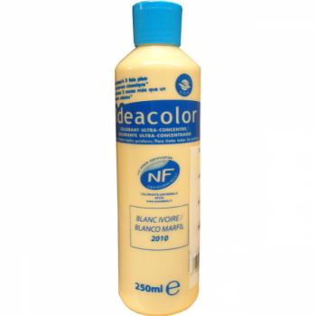 Colorant Idéacolor ultra concentré blanc ivoire 250 ml
