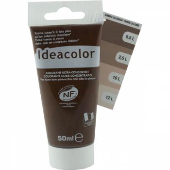 Colorant Idéacolor ultra concentré ombre calcinée 50 ml