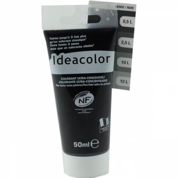 Colorant Idéacolor ultra concentré noir 50 ml