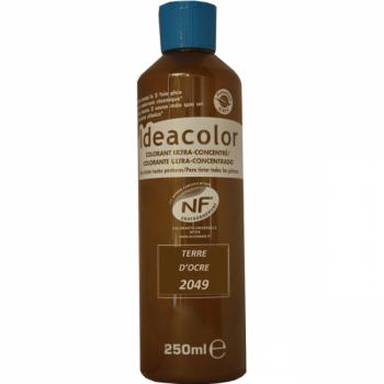 Colorant Idéacolor ultra concentré terre d'ocre 250 ml