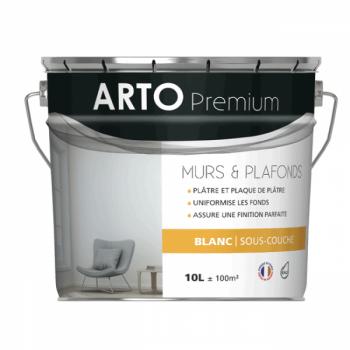 Sous-couche Arto Premium acrylique mate blanche 10L