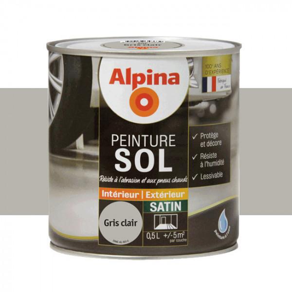 Peinture alpina spéciale sol gris...