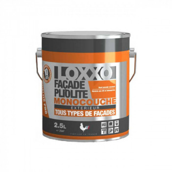 Peinture Loxxo façade pliolite ton pierre 2,5L