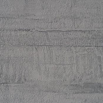 Papier peint ROMA vinyle lourd effet béton gris foncé